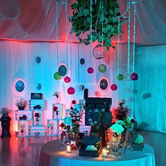 Loby salón bellavista
