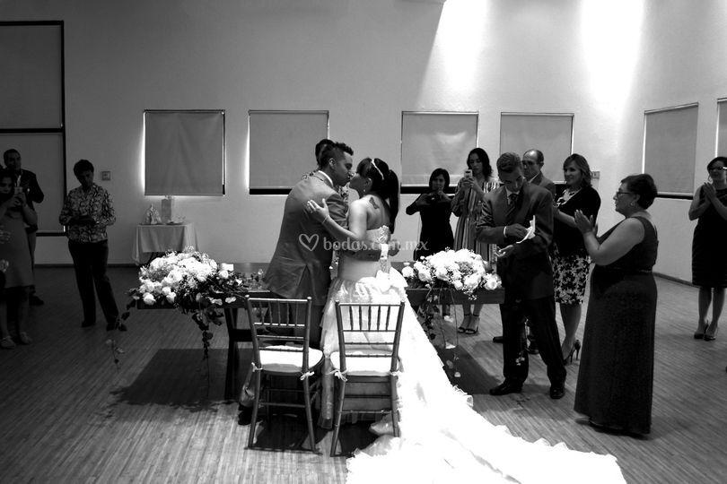 Cobertura ceremonia civil