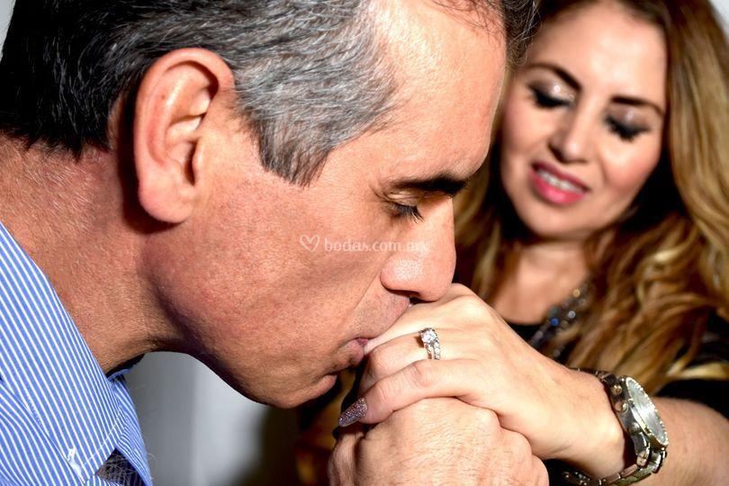 Sesión entrega de anillo