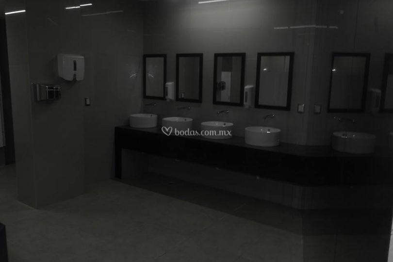 Modernos baños damas