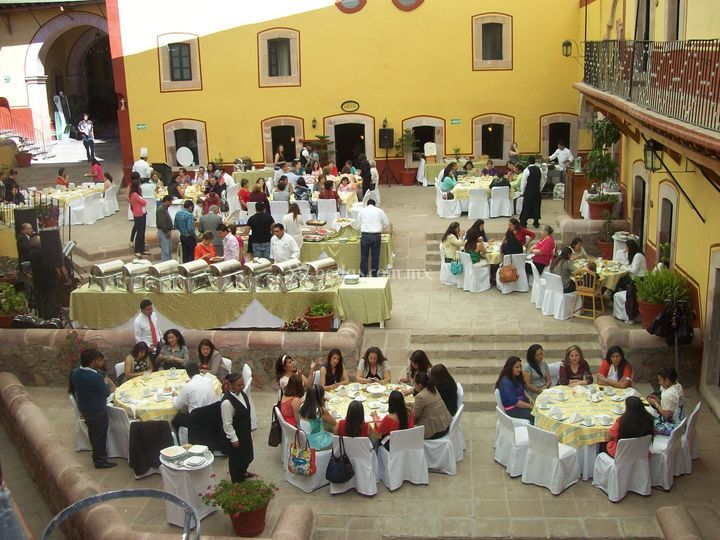 Boda patio jobito buffet