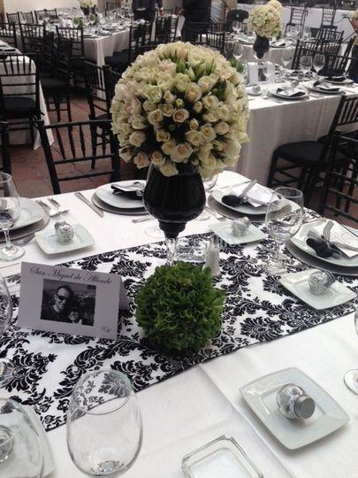 Montaje boda centro
