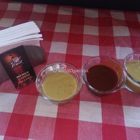 Nuestras tradicionales salsas
