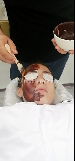 Velo de Novia facial cacao