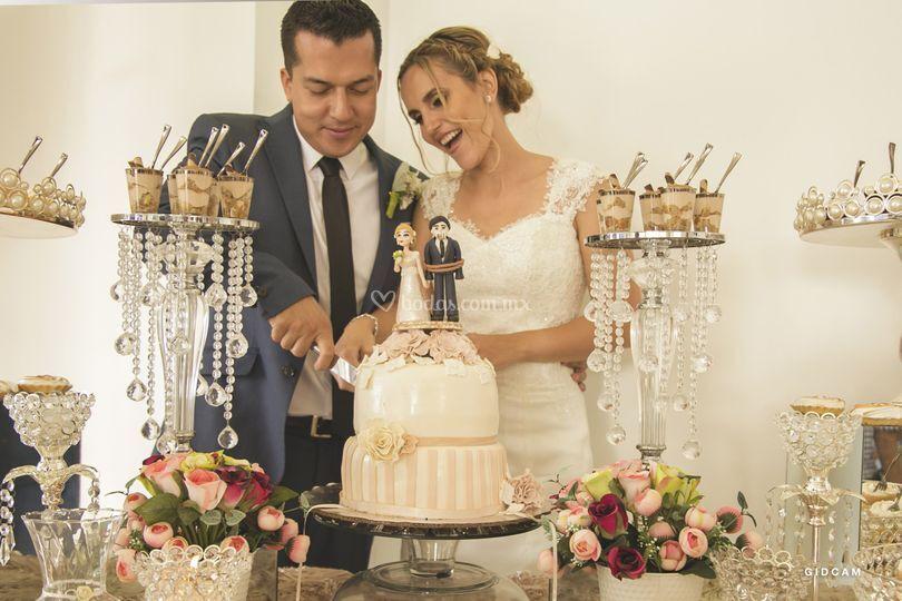 Cobertura de la boda