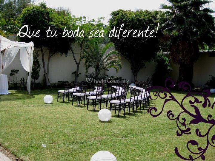 Que tu boda sea diferente