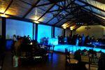 Iluminaci�n azul de Quinta las Palmas