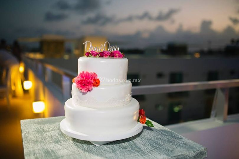 Pastel & Flores