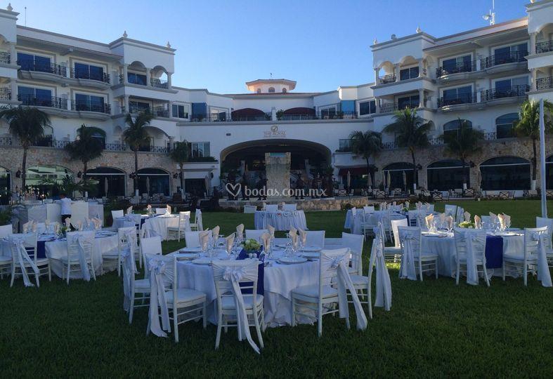 The royal playa del carmen for Central jardin rosiere