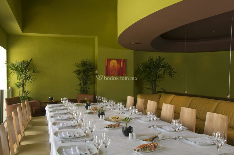 Mezzanine, restaurante asiático