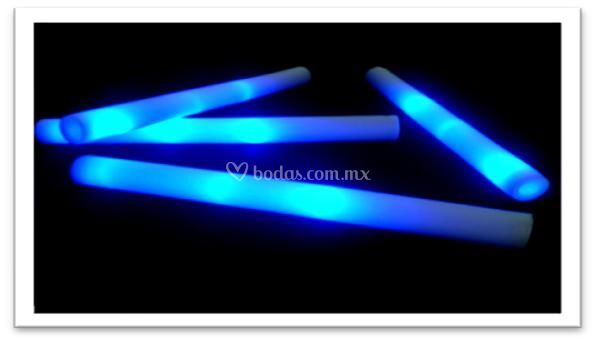 Barra de espuma con led