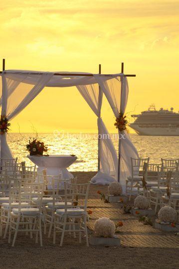 Tu boda en playa