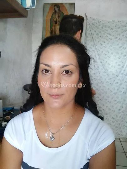 Antes del maquillaje