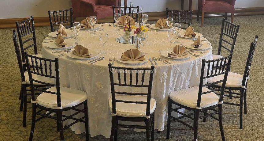 Montaje banquetes