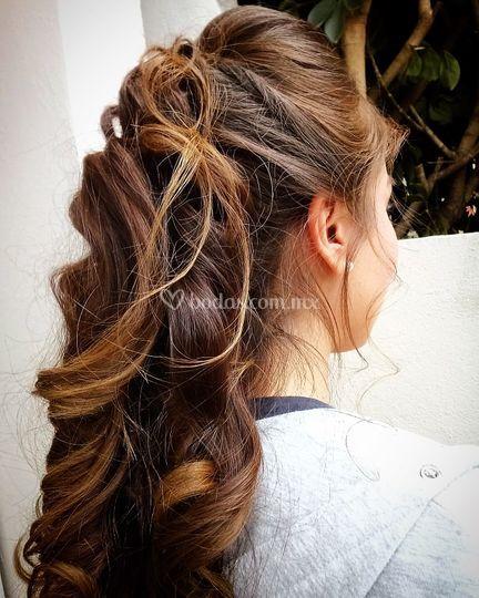 Peinado medio Recogido