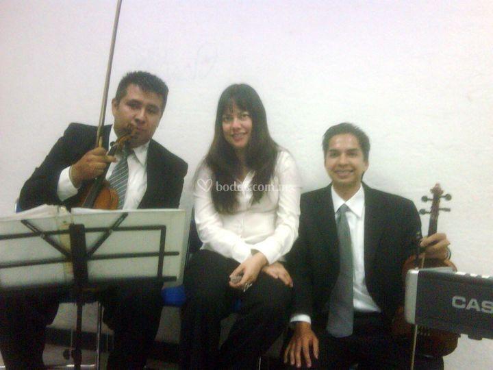 Concierto piano y 2 violines
