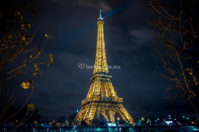La romántica París