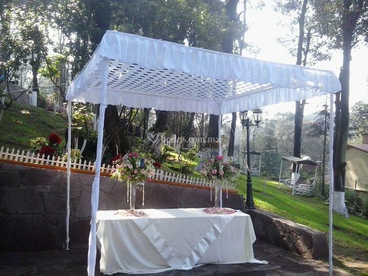 Recinto para boda civil