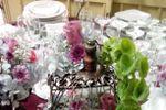 Centros de mesa con jaulas