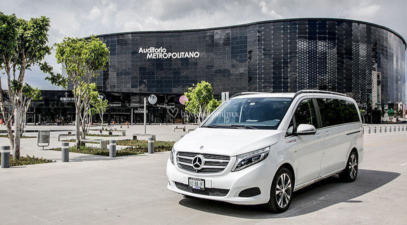 Mercedes clase v (7 pasajeros)