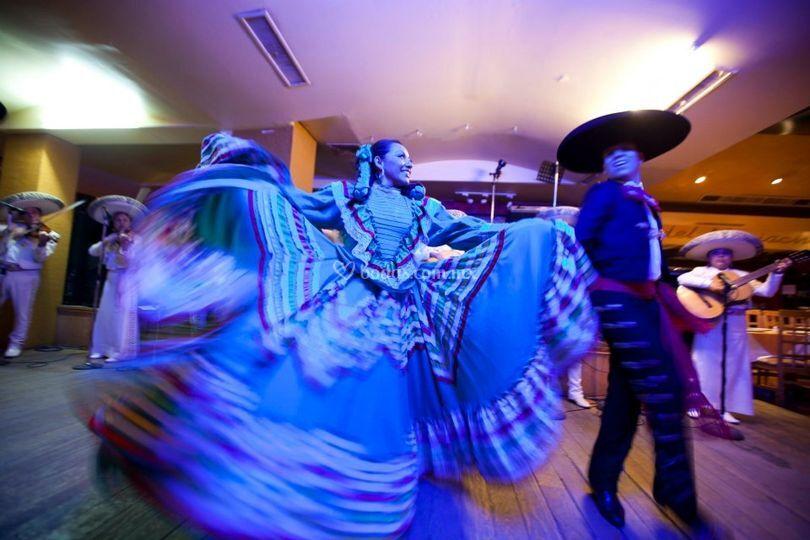 Show de baile folcklórico
