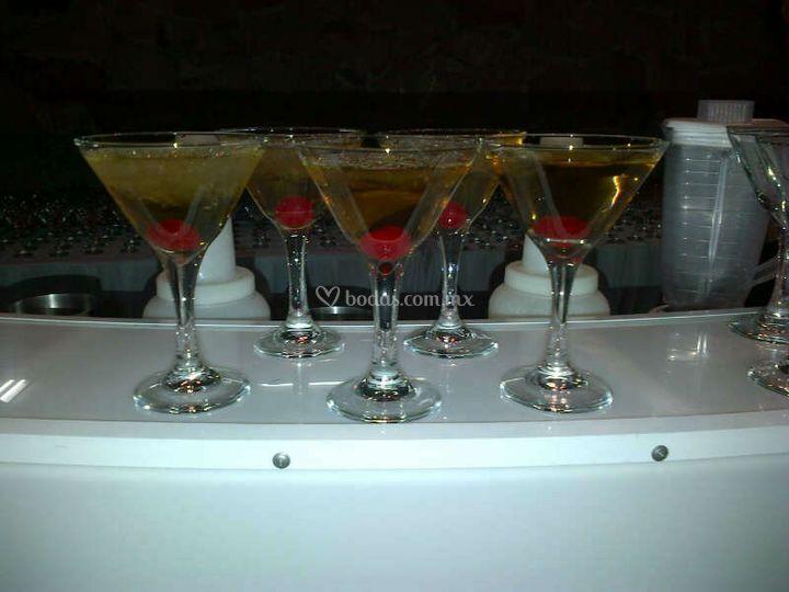 Martinis evento nocturno