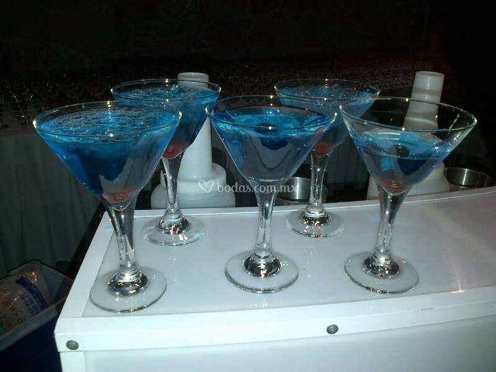 Martinis para sus invitados