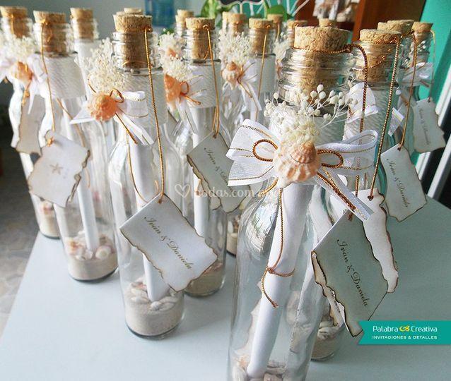 Invitacion De Boda Botella De Palabra Creativa Foto 159 - Invitaciones-de-boda-en-botella