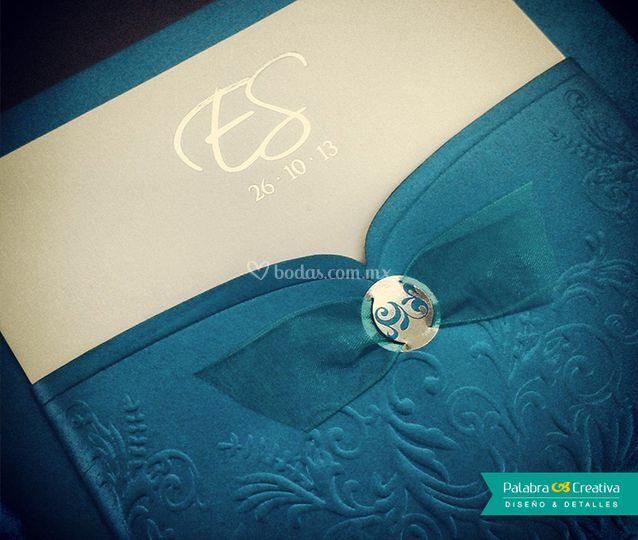 Invitación de boda E y S