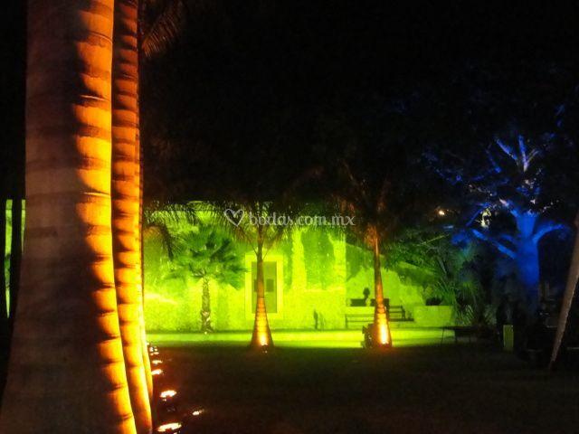 Iluminación Hacienda
