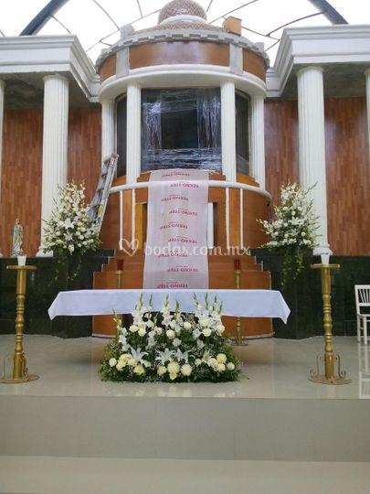 Arreglo de iglesia