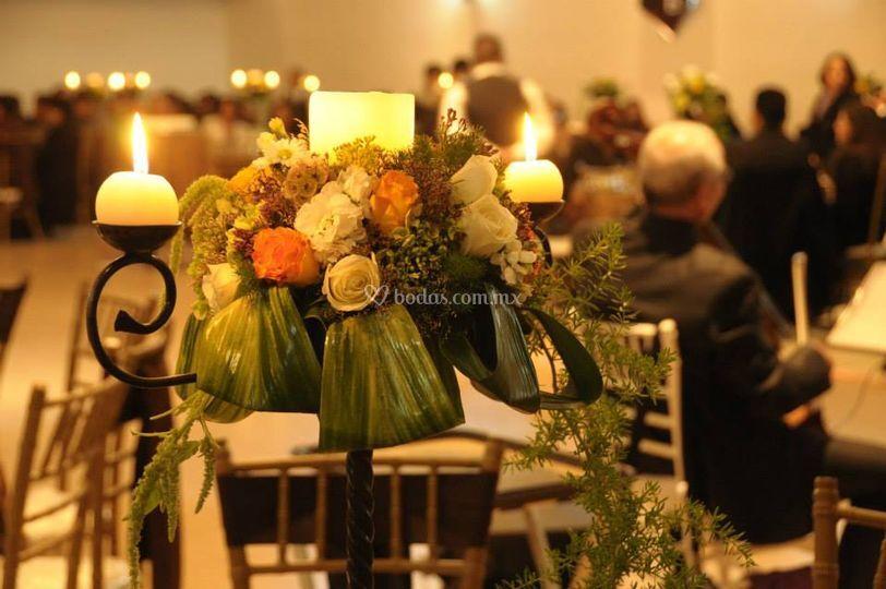 La decoración de su boda
