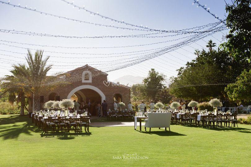 Floras farm boda