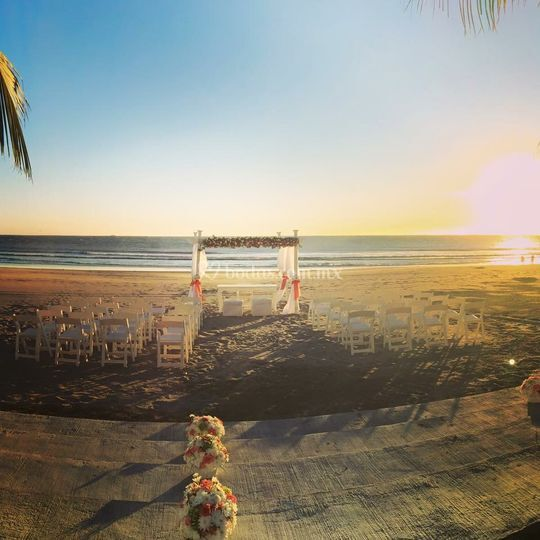 Gazebo playa
