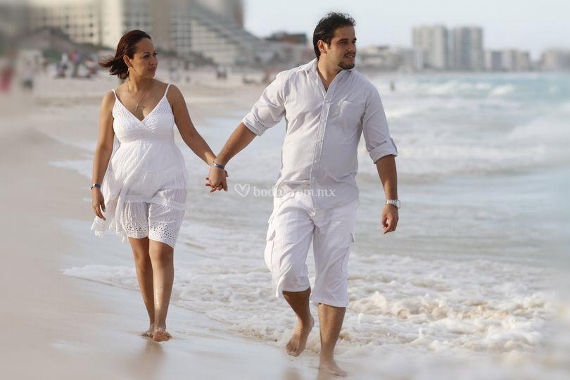 Sesión de fotos Cancún