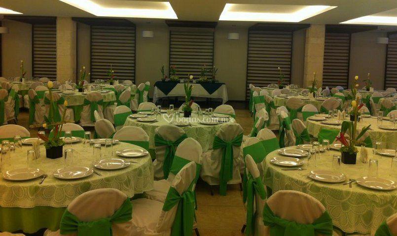 Salón para eventos de Hotel Real del Oro