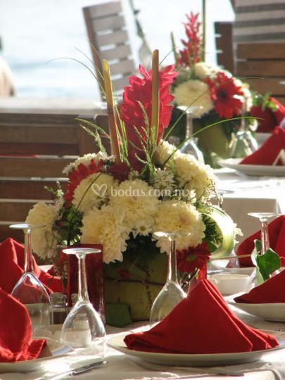 Montaje flores