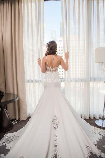 Vestido de novia, Chicago 2019