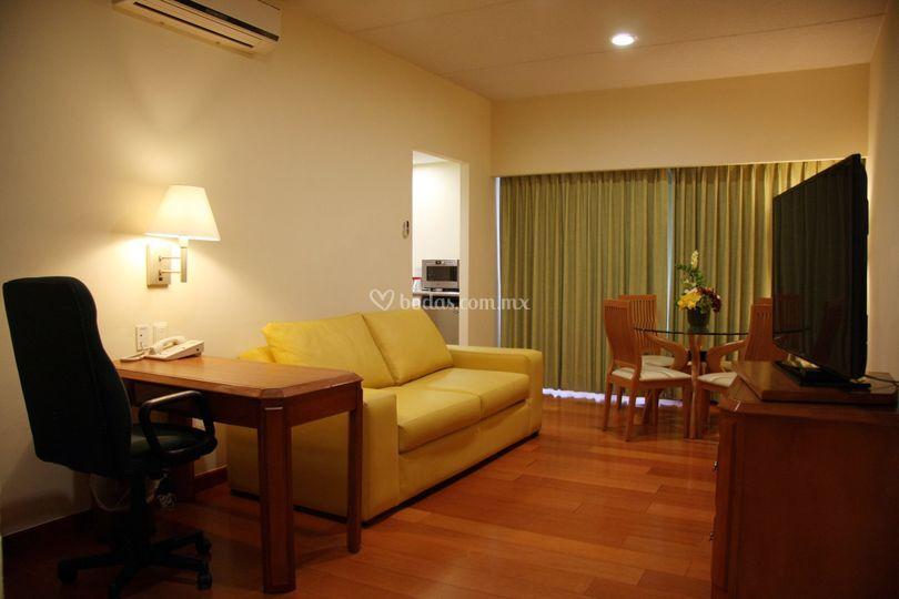 Habitacion tipo suite