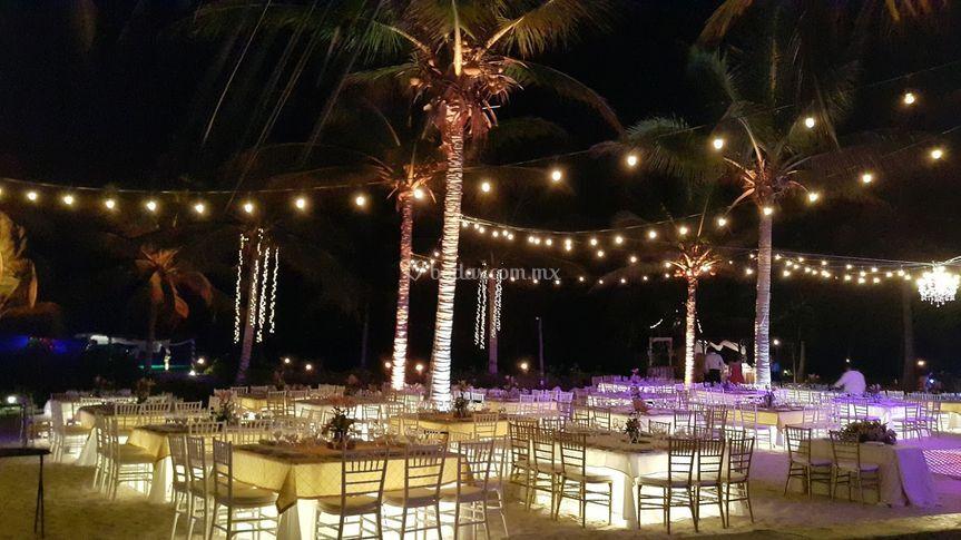 Iluminación para eventos