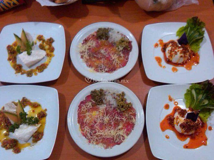 Variedad en gastronomía
