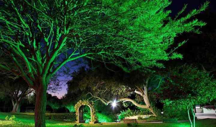 Espectacular iluminación