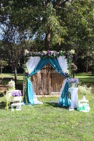 Altar para boda