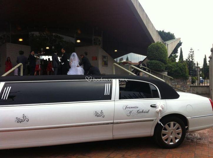 Limusina para boda