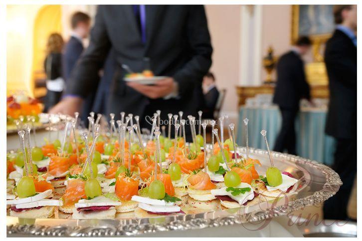 bocadillos originales de banquetes prince fotos