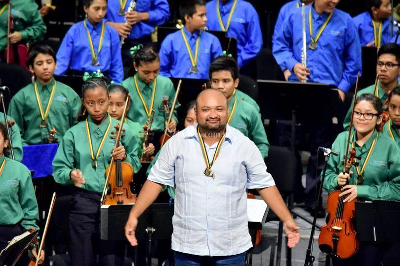 Debut orquesta
