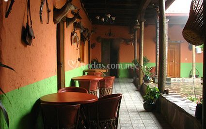 Interior de Casa Vieja