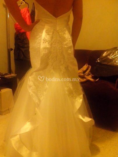 Prueba vestido de novia de Lino Fino | Foto 17