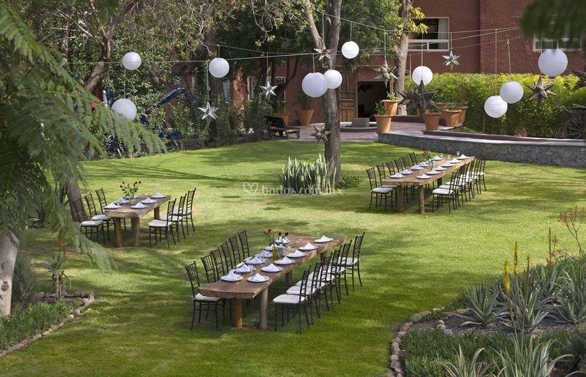 Hotel real de minas for Jardin hidalgo