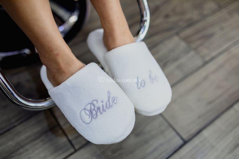 Pantuflas bride to be
